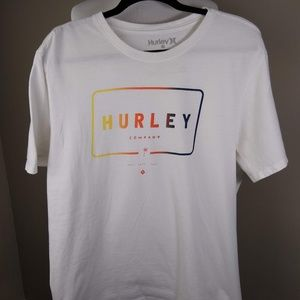 Hurley Company White T-Shirt Men's XL